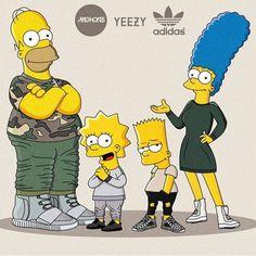 #yeezy #simpsons