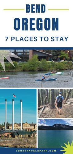 Bend, Oregon is an outdoor lover's dream during all four seasons. But in order to really enjoy your experience, you need a great hotel. Here are our favorite places to stay in Bend, Oregon: Bend, Central Oregon, Travel News, Travel Usa, 7 Places, Visit Usa, Camping Spots, Oregon Travel