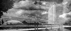 Каким мог стать Киев: Нереализованные проекты 60-х-70-х в стиле модернизм - Памятники архитектуры