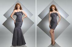 Detachable bridesmaid dress - Photography copyright bari jay