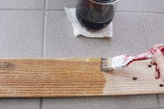 DIY Holz altern lassen