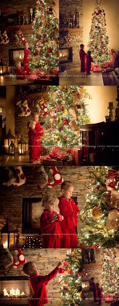 christmas tree photography present sessions in a clients home by Chubby Cheek Photography Christmas Tree Photography, Christmas Portraits, Holiday Photography, Christmas Photoshoot Ideas, Photography Poses, Family Photography, Xmas Photos, Family Christmas Pictures, Holiday Pictures