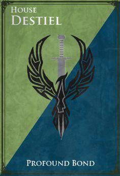 rougevelvet, Supernatural Game of Thrones [x]