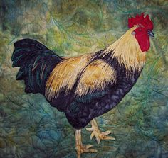 Rooster Or Chicken Quilts | hey dooders: Playing Chicken