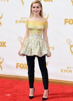 Kiernan Shipka e as outras musas que arrasaram no red carpet do Emmy Awards, que rolou ontem.