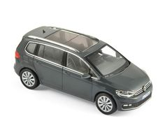 Volkswagen Touran 2015 - Grey Solid - Car models - Die-cast | Hobbyland Scale model car made of metal /Die-cast/ in 1:43 scale manufactured by Norev.  It is just a small version of a real car suitable for collectors.  Handmade.  Composition: metal and plastic