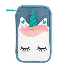 Unicorn pencil case by yoobi at target: cool back to school supplies and accessories under Justice School Supplies, School Supplies Organization, Back To School Supplies, Unicorn Pencil Case, Cute Pencil Case, School Pencil Case, Pencil Boxes, Pencil Pouch, Bebidas Do Starbucks