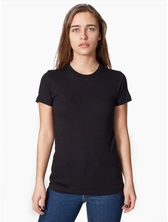 The softest, smoothest, best-looking organic cotton women's T-shirt available anywhere.