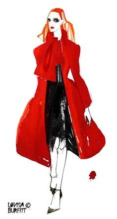 Lovisa Burfitt for Vogue Nippon - Dior