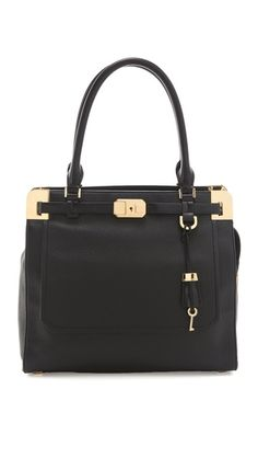 Michael Kors Collection Blake Satchel | I will never make enough to justify purchasing a bag at this price point -- and if I did, who actually spends this much money on a bag anyway? But I can appreciate it's beauty, yes, I can do that at least.