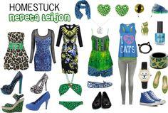 """Homestuck Fashion: Nepeta Leijon"" by khainsaw on Polyvore"