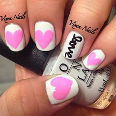 Valentine's Day Nails   Photo by vixen_nails