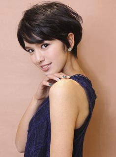 20 French Short Hair for Fresh New Hairstyle Asian Short Hair, Asian Hair, Short Hair Cuts, Pixie Hairstyles, Cool Hairstyles, Haircut For Thick Hair, Japanese Hairstyle, Grunge Hair, Great Hair
