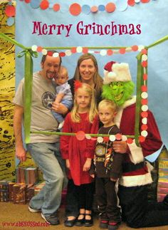 Grinch photo idea