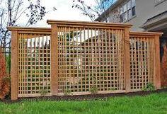 outdoor privacy ideas to block that horrible brown van next door!!!