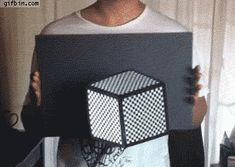 3d Cube Optical Illusion