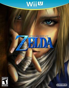 Beautiful Zelda Wii U box art concept. Wii U needs a new Zelda title desperately. This is when I will run out an purchase a Wii U.