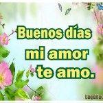 Imagenes D Buenos Días Mi Amor Te Amo Para Facebook