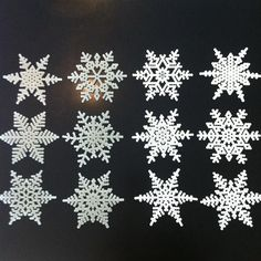 Snowflakes hama beads by annemp82