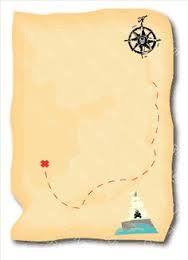 Resultado de imagen para invitación mapa, jake y los piratas