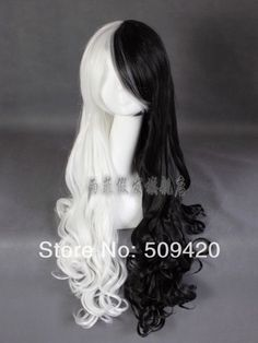 Black and White Wig | $19.98