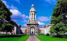 Dublin - The Trinity College <3