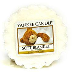 Yankee Candle  Soft Blanket Wax Tart