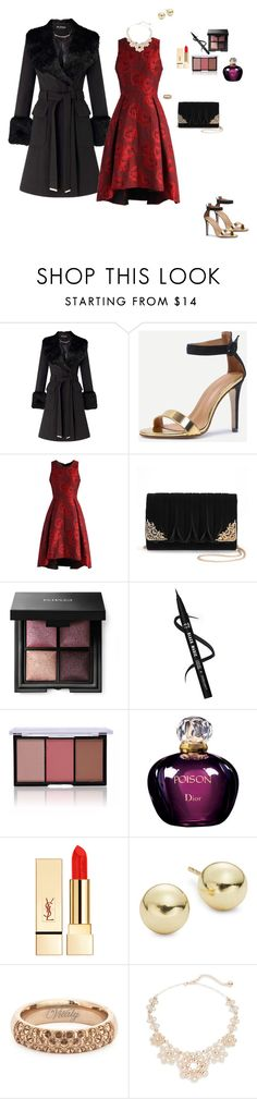 """Winter weeding"" by clauxsanchex on Polyvore featuring moda, Miss Selfridge, Chicwish, La Regale, Christian Dior, PUR, Lord & Taylor, Vitaly y Kate Spade"