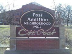 Post Addition Neighborhood: Battle Creek, Michigan
