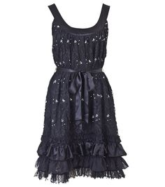 Act Surprised Frock (Black)