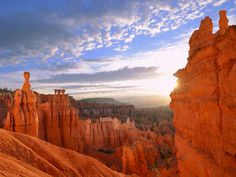 Picture of rock spires at Bryce Canyon National Park, Utah
