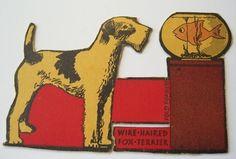 Vintage terrier ephemera
