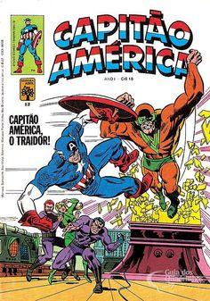 Capitão América n° 12/Abril | Guia dos Quadrinhos