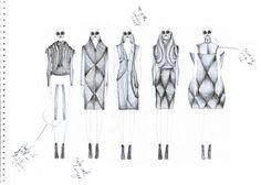 Fashion Sketchbook - fashion design drawings; creative process; fashion portfolio // Hannah Eason