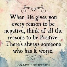 Positivity!!!