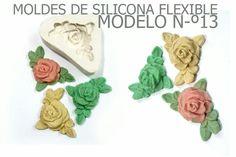 molde de silicona numero 13 rosa