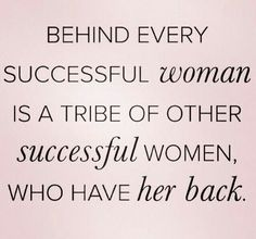 Great things happen when we support each other. #strongwomen Forever We Dream