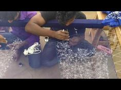 Intricate embroidery design for crop top - YouTube