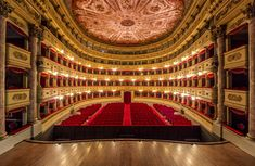 """Musicale Filarmonica del Veneto is raising funds for """"Opera Rescue"""" in an Italian Opera Theatre on Kickstarter! Help us recovering the Opera tradition in one of the most famous historical Italian Theatre. Theatre Architecture, Theatre Design, Roaring 20s, City Buildings, Conservatory, Rome, Ball Gowns, Opera, Characters"""