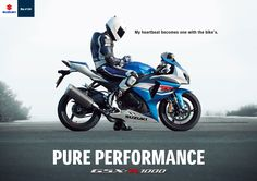GSXR-1000  Pure Performance