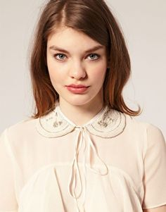 Discover the latest fashion and trends in menswear and womenswear at ASOS. Shop this season's collection of clothes, accessories, beauty and more. Beaded Collar, Collar Necklace, Toronto, Textiles, Dress For Success, Asos Online Shopping, Latest Fashion Clothes, Modern Fashion, Peter Pan