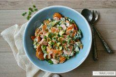 Healthy sweet potato salad | Anne Travel Foodie