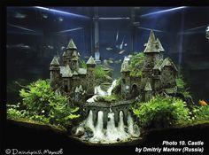 Fantasy aquarium, story aquarium, fairytale aquarium | Все для аквариума, террариума и пруда #aquariumtanks