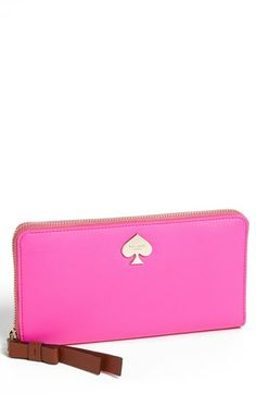 kate spade new york 'cobblestone park - lacey' wallet wristlet | Nordstrom