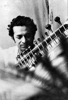the great Ravi Shankar