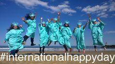 Because we're happy!  #internationalhappyday