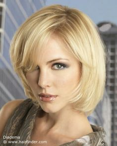 Professional medium length hairstyle.  Source: www.hairfinder.com