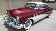1953 Buick Special Sedan 263 CI, Automatic presented as lot at Kissimmee, FL 2015 - Vintage Cars, Antique Cars, 1950s Car, Buick Cars, American Classic Cars, Us Cars, Automotive Design, Luxury Cars, Automobile