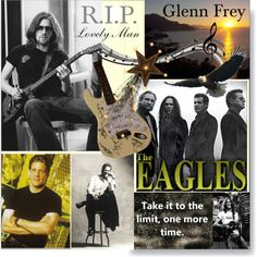 R.I.P. Glenn Frey: Of The Eagles by calamity-jane-always on Polyvore featuring art, artset, eagles, artexpression, theeagles and GlennFrey