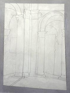 Ben Nicholson OM, 'May 1962 (Urbino - footsteps in the dust)' 1962